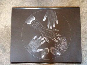 Mandala art - hands